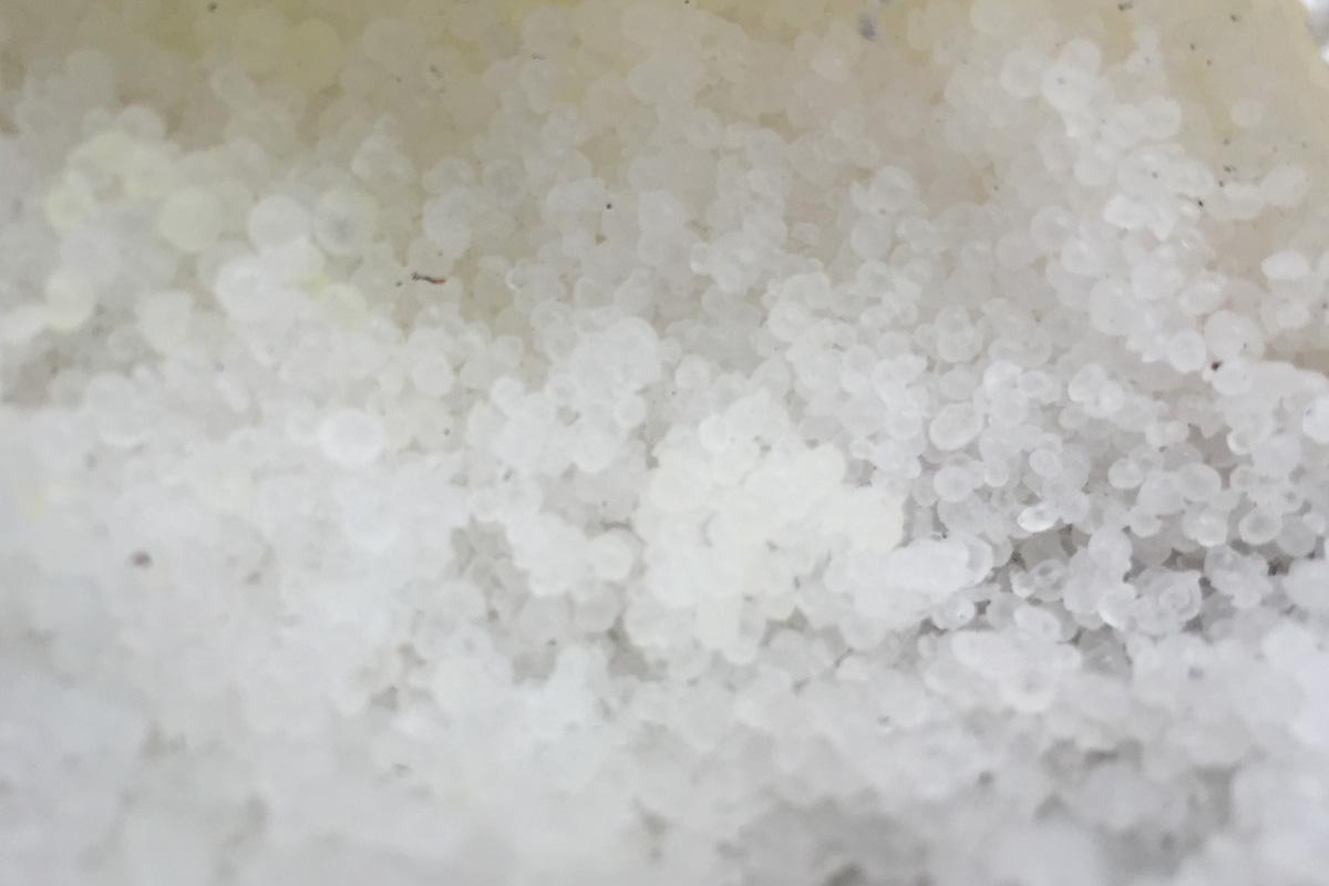 salt closeup